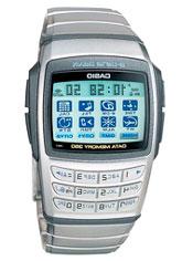 El reloj Casio EDB-610 podia guardar direcciones de email
