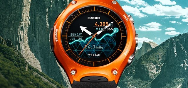Casio Outdoor SmartWatch primer lanzamiento de Casio