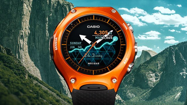 Casio Outdoor SmartWatch (WSD-F10)