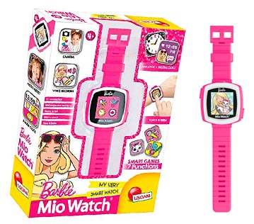 reloj lisciani mio barbie chicas